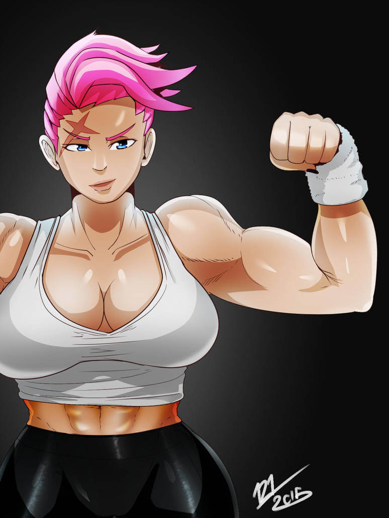 Zarya Overwatch hot pics