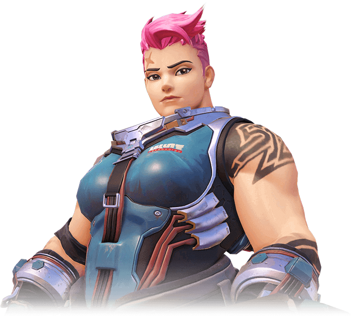 Zarya Overwatch hot pictures