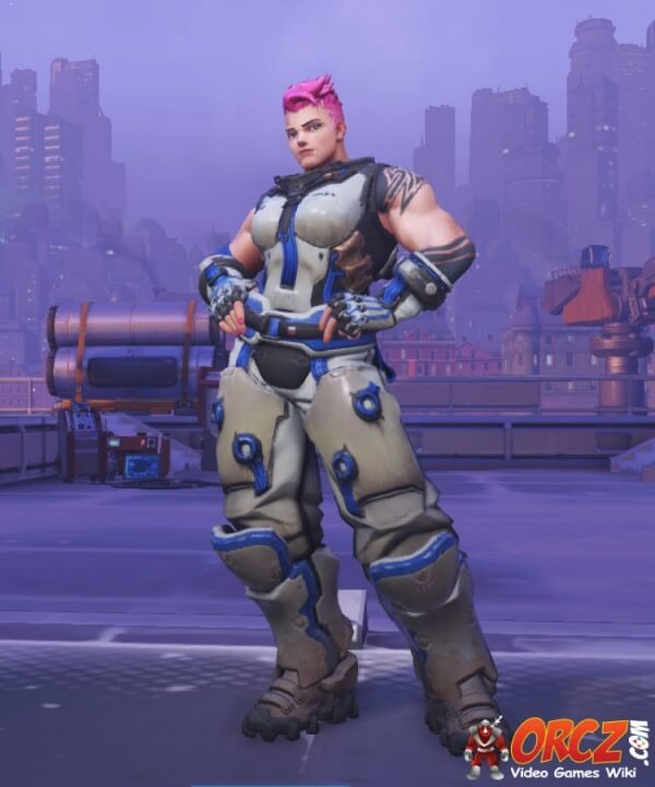 Zarya Overwatch new skin