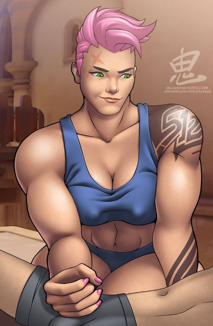 Zarya Overwatch sexy photos