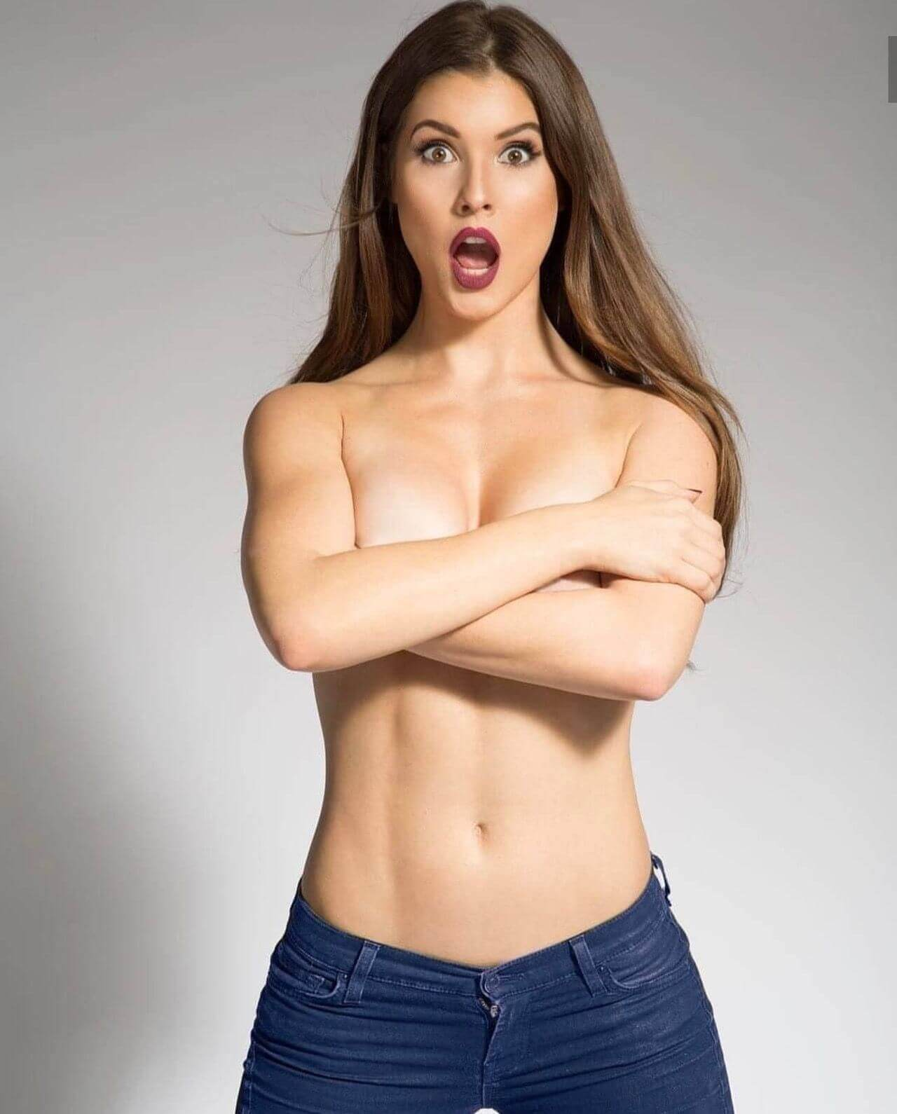 amanda cerny sexy topless pic (2)