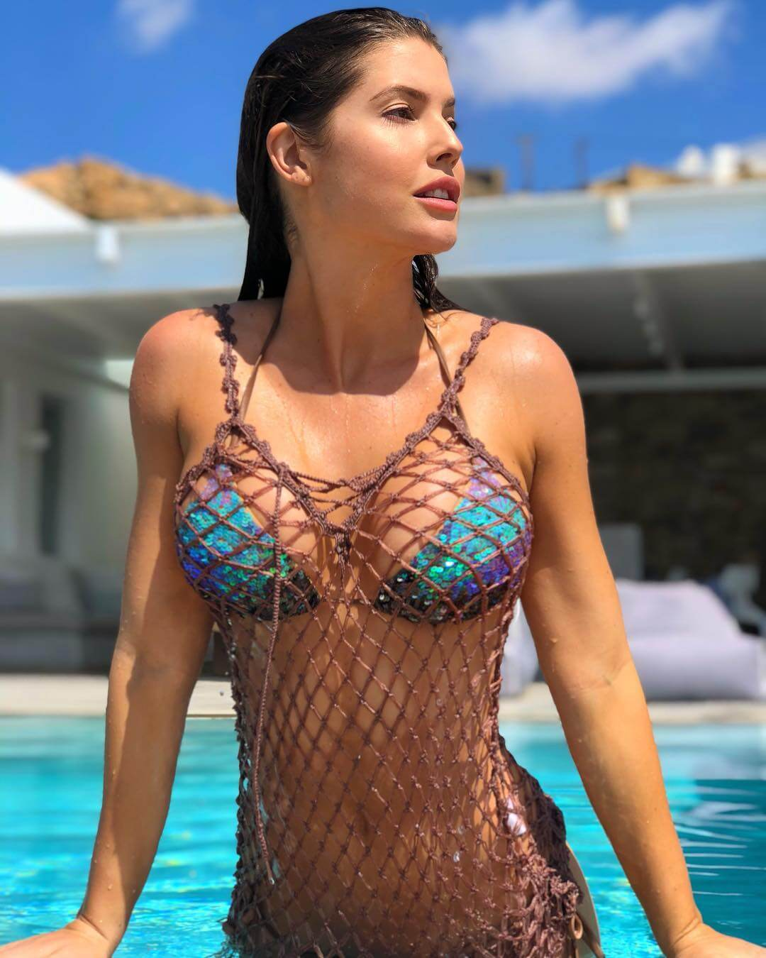 amanda cerny sexy wet look