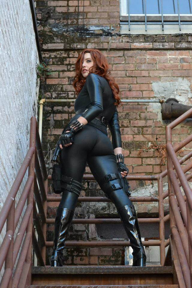 Black widow ass