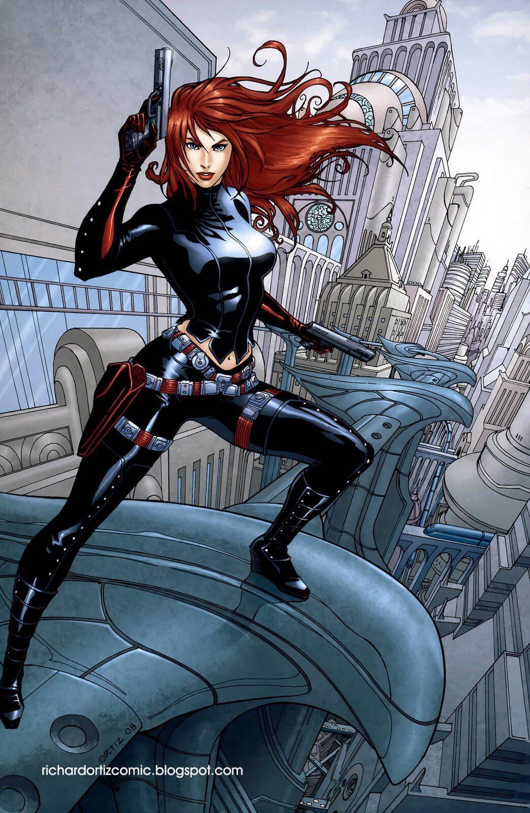 49 Sexy Black Widow Boobs Pictures Are Too Damn Appealing-9380