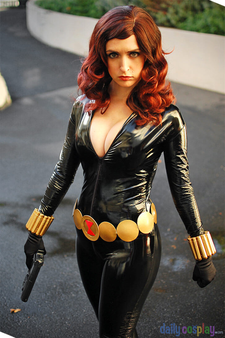 black widow sexy picture