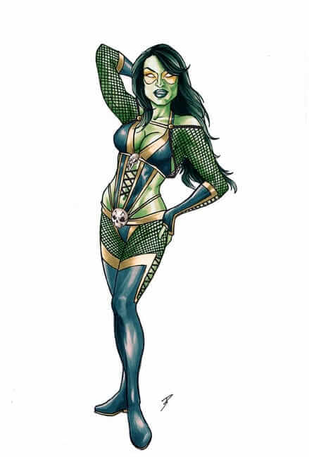gamora awesome pictures