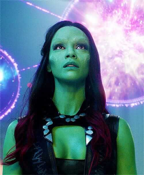 gamora sexy cleavages photo
