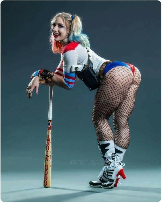 harley quinn ass pictures