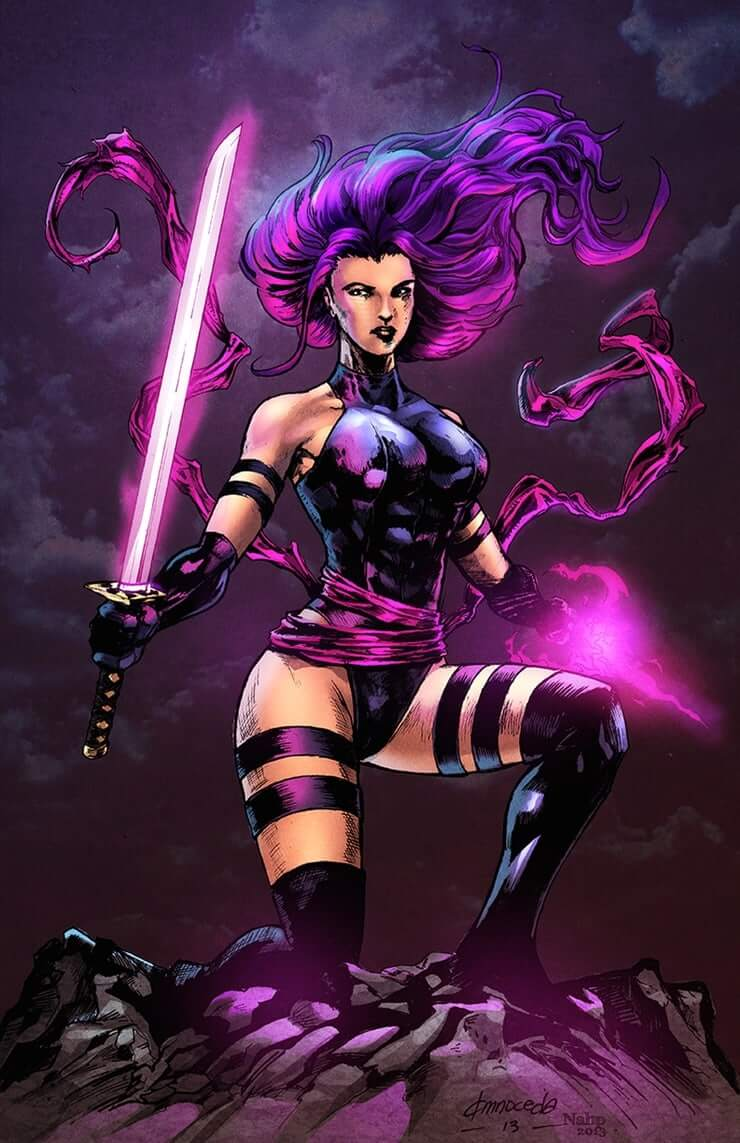 psylocke hot picture
