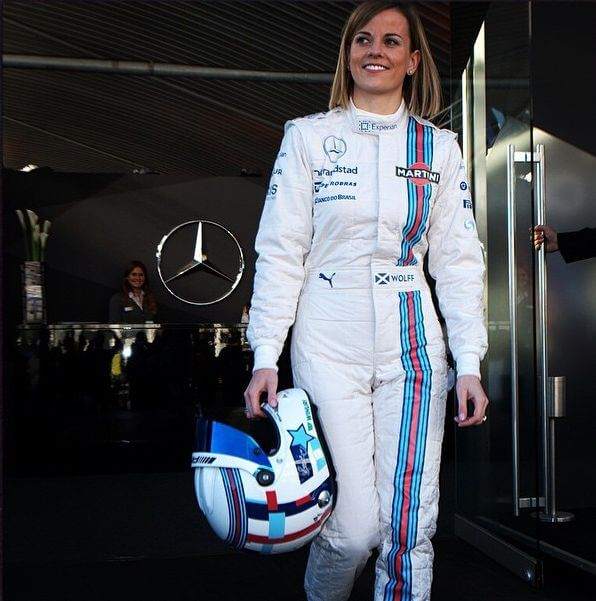 susie wolff in costume