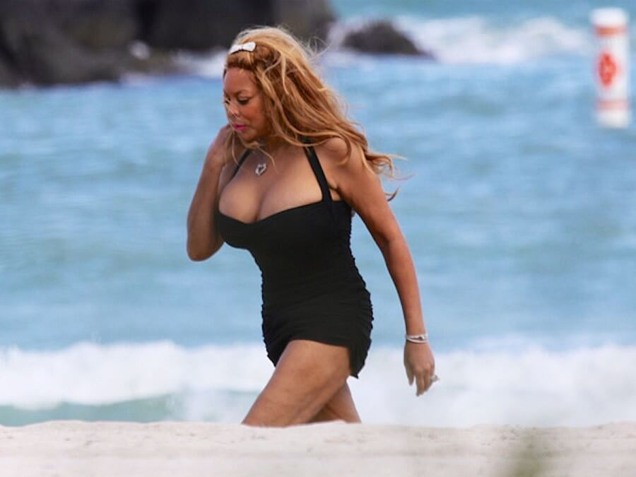 wendy williams thighs photo