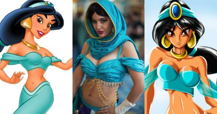 49 Hot Pictures Of Jasmine Aladdin Which Will Make You Fantasize Her