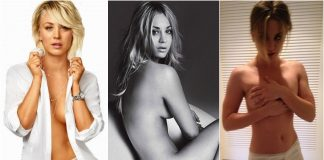 49 Hot Pictures Of Kaley Cuoco Expose Her Sexy Hour-Glass Figure