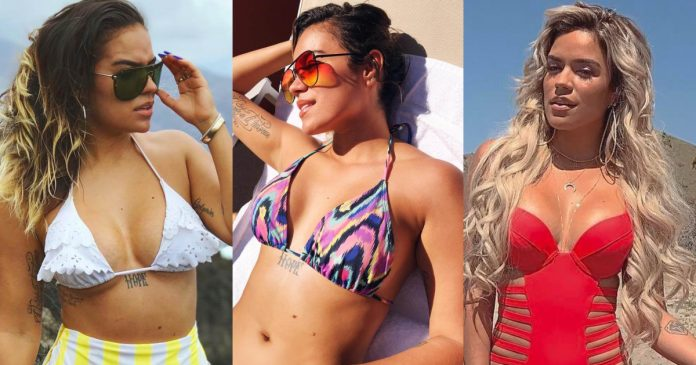 49 Hot Pictures Of Karol G Expose Her Curvy Figure To The World