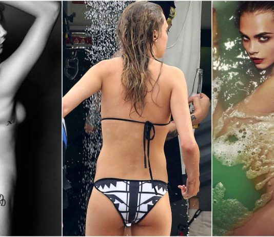 49 Hottest Cara Delevingne Big Butt Pictures Are Going To Make You Want Her Badly