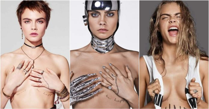 49 Sexy Cara Delevingne Boobs Pictures Will Make Your Hands Want Her