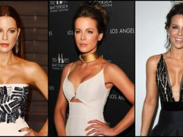 49 Sexy Kate Beckinsale Boobs Pictures Are Showcasing Her Busty Figure And Curvy Ass