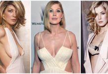 49 Sexy Rosamund Pike Boobs Pictures Will Make You Want To Play With Them