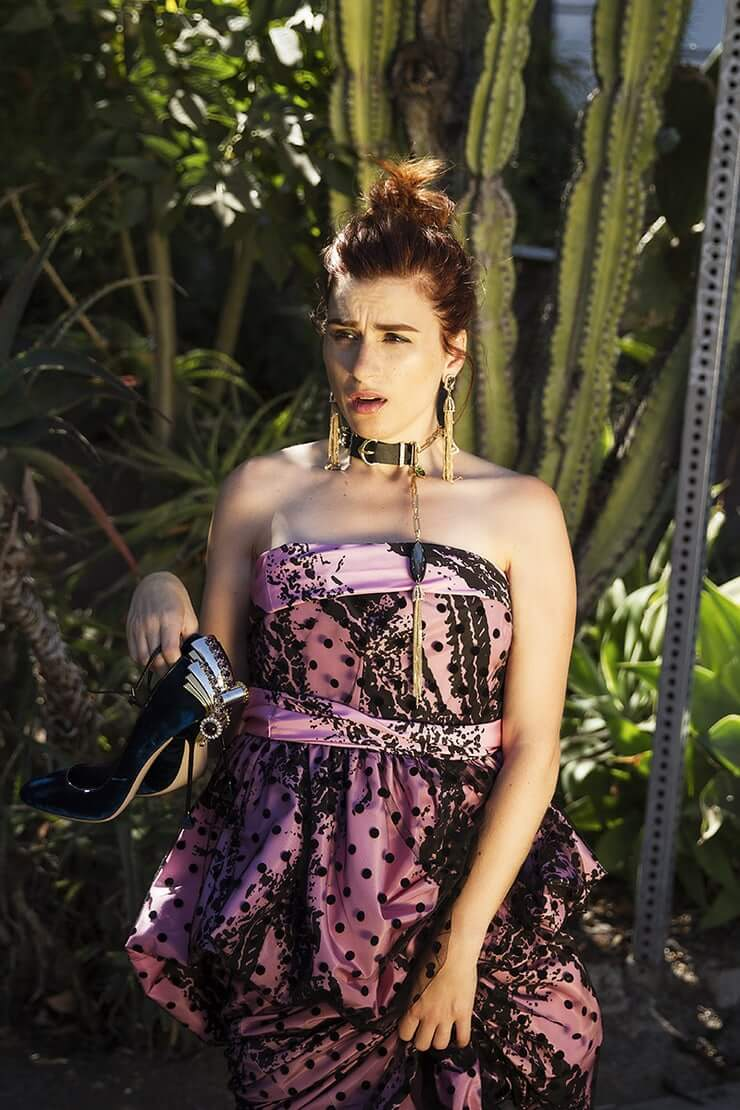 Aya Cash hot busty picture