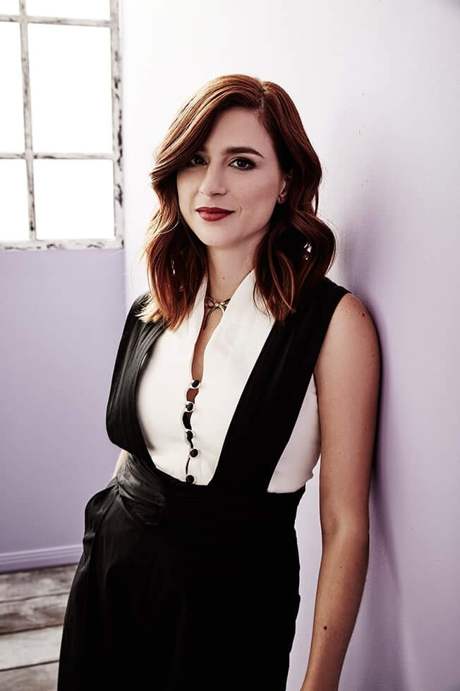 Aya Cash sexy cleavages pic
