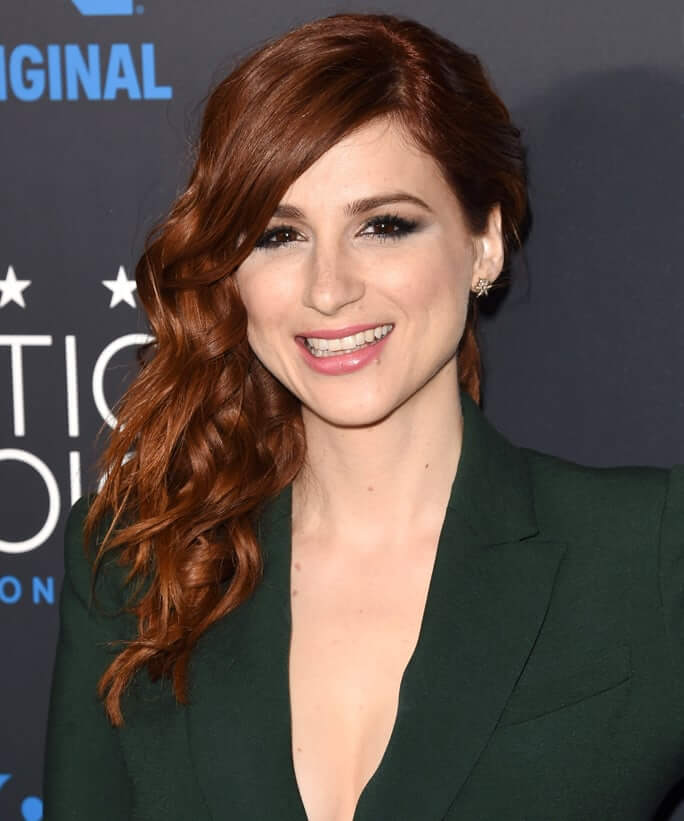 Aya Cash sexy cleavages