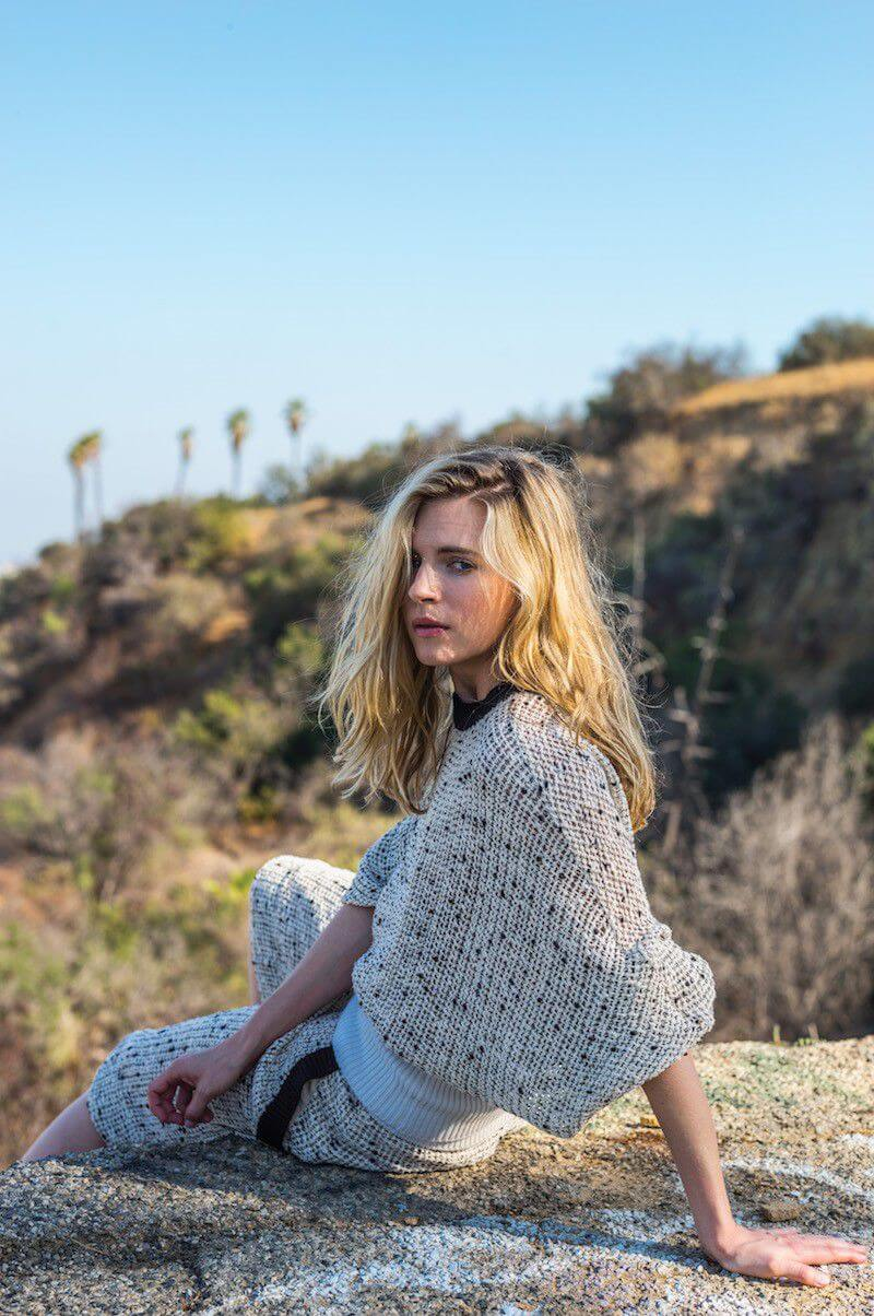 Brit Marling awesome look
