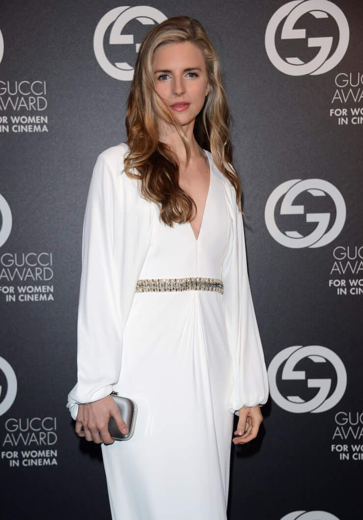 Brit Marling hot white dress pic
