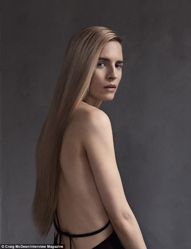 Brit Marling sexy backless