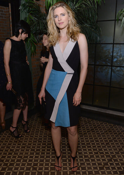 Brit Marling sexy look pic