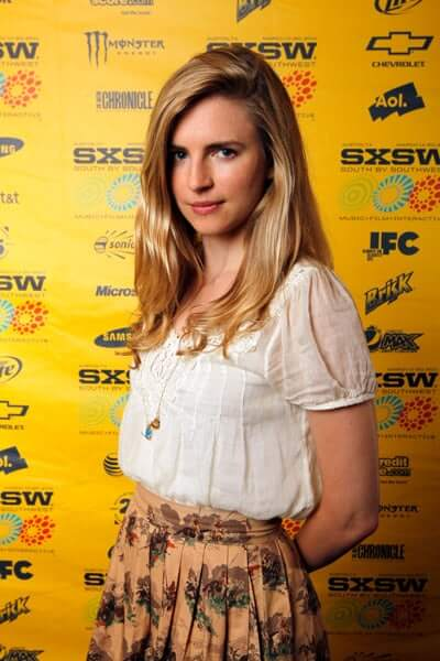 Brit Marling sexy side look