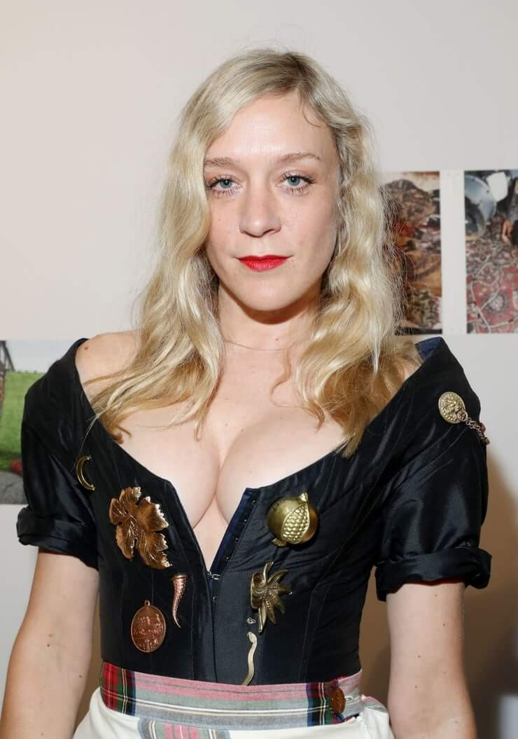 Chloë Sevigny hot cleavage pic