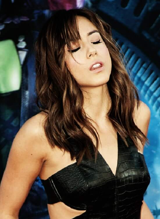 Chloe Bennet hot busty pictures