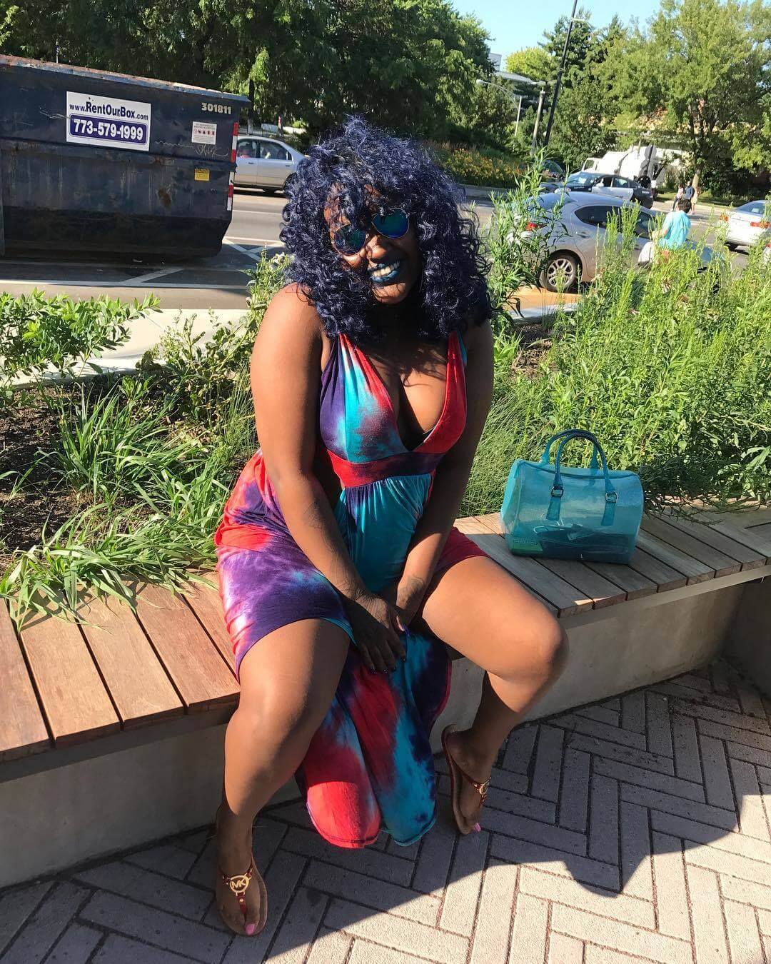CupcakKe sexy thighs pic