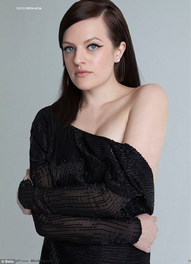 Elisabeth Moss sexy look pic