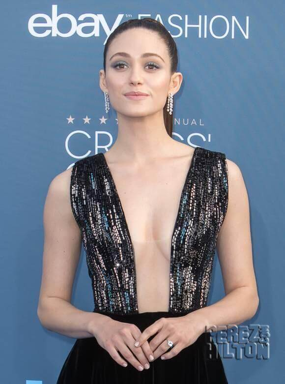 Emmy Rossum beautiful boobs