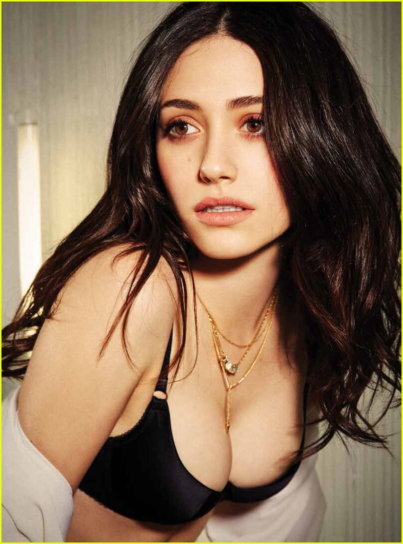 Emmy Rossum bikini photoshoot