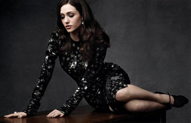 Emmy Rossum sexy photoshoot