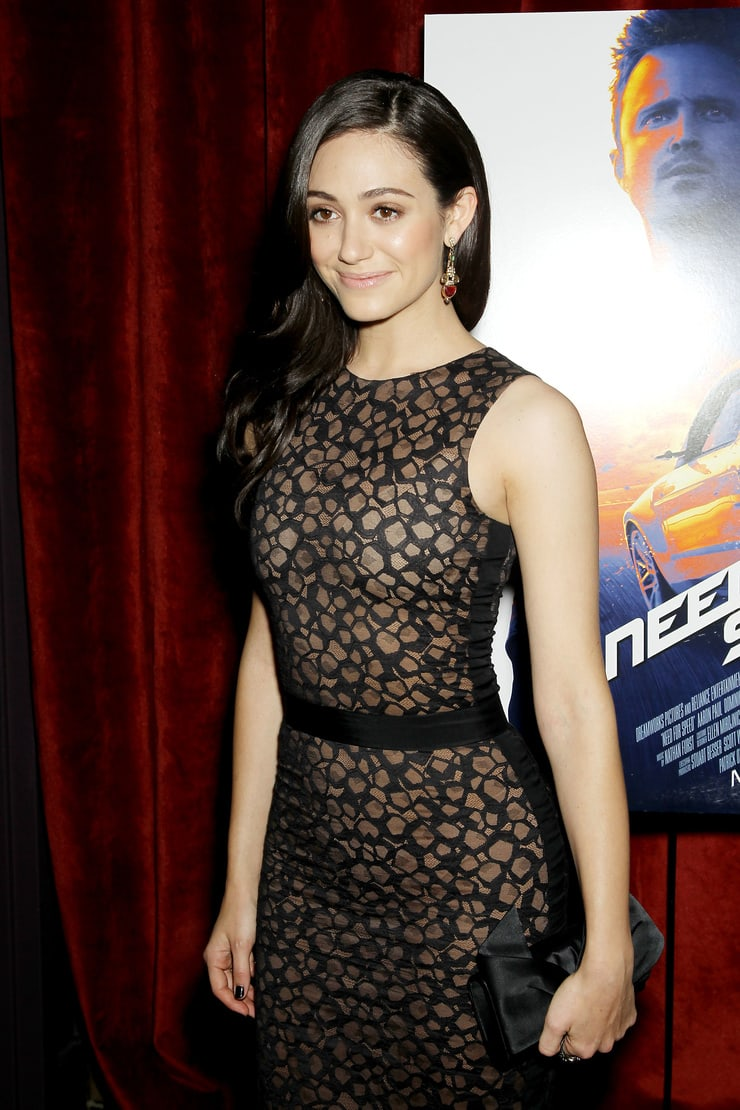 Emmy Rossum smile
