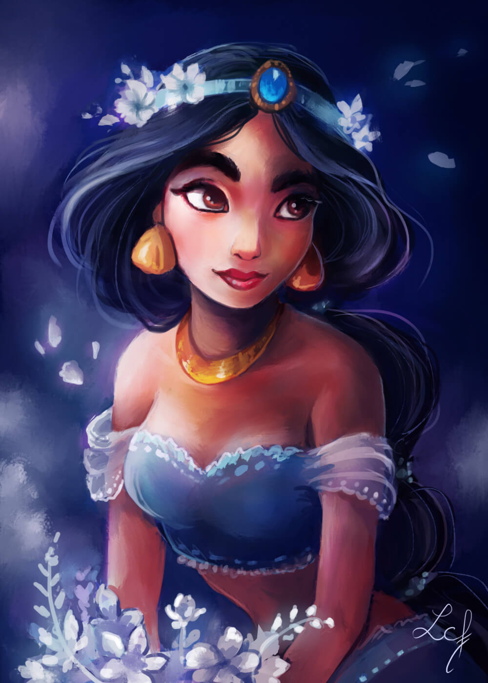 Jasmine Aladdin hot picture (3)