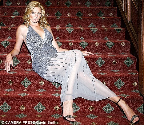 Jodie Kidd hot cleavage pics