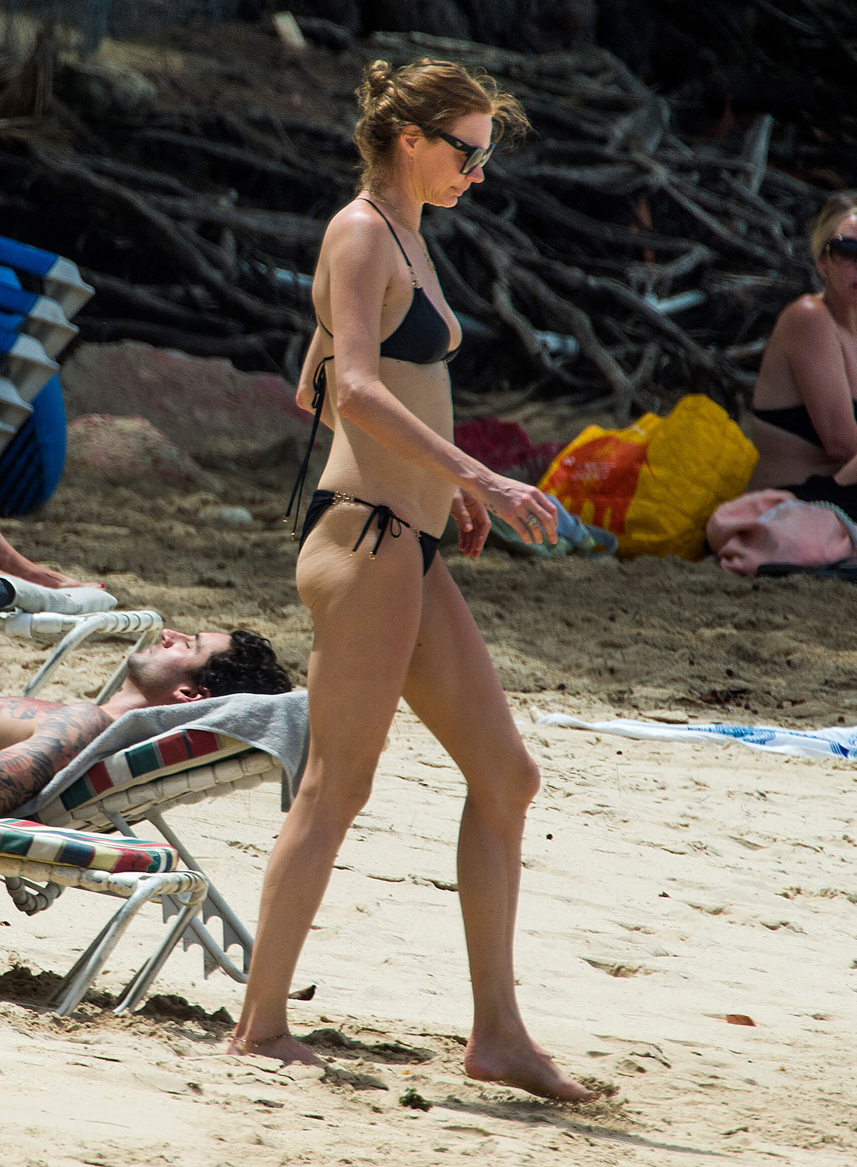 Jodie Kidd sexy side pic
