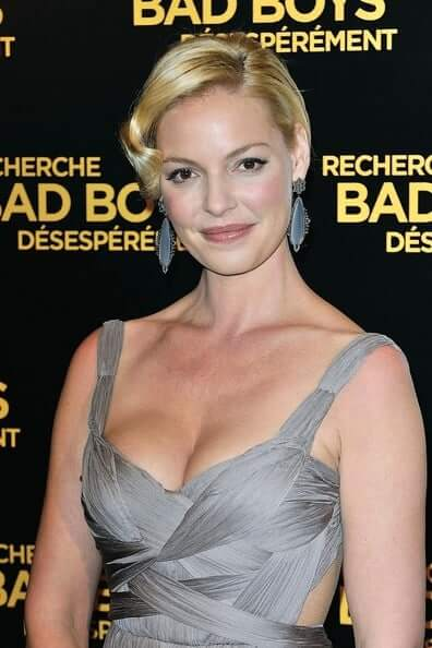 Katherine Heigl sexy cleavages picture