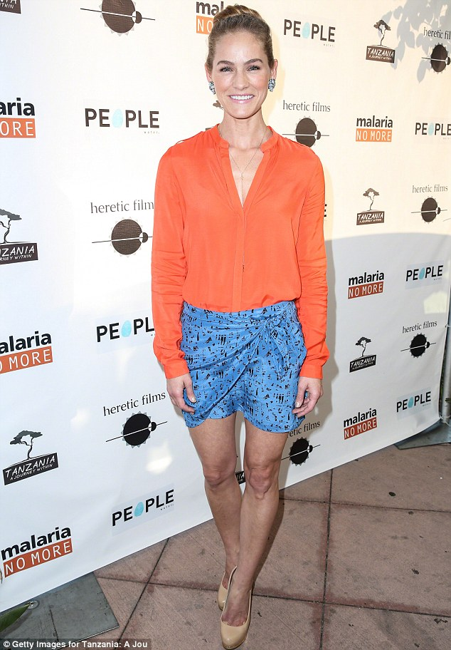 Kelly Overton orange