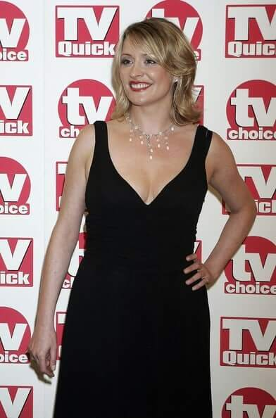 Laurie Brett cleavage pic
