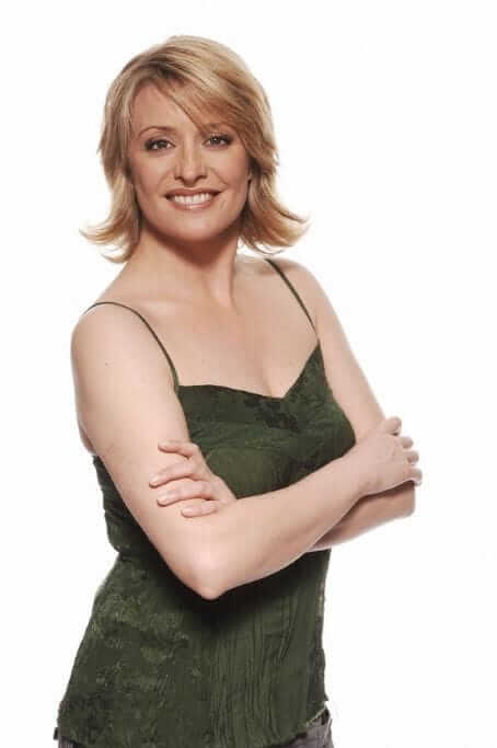 Laurie Brett sexy smile