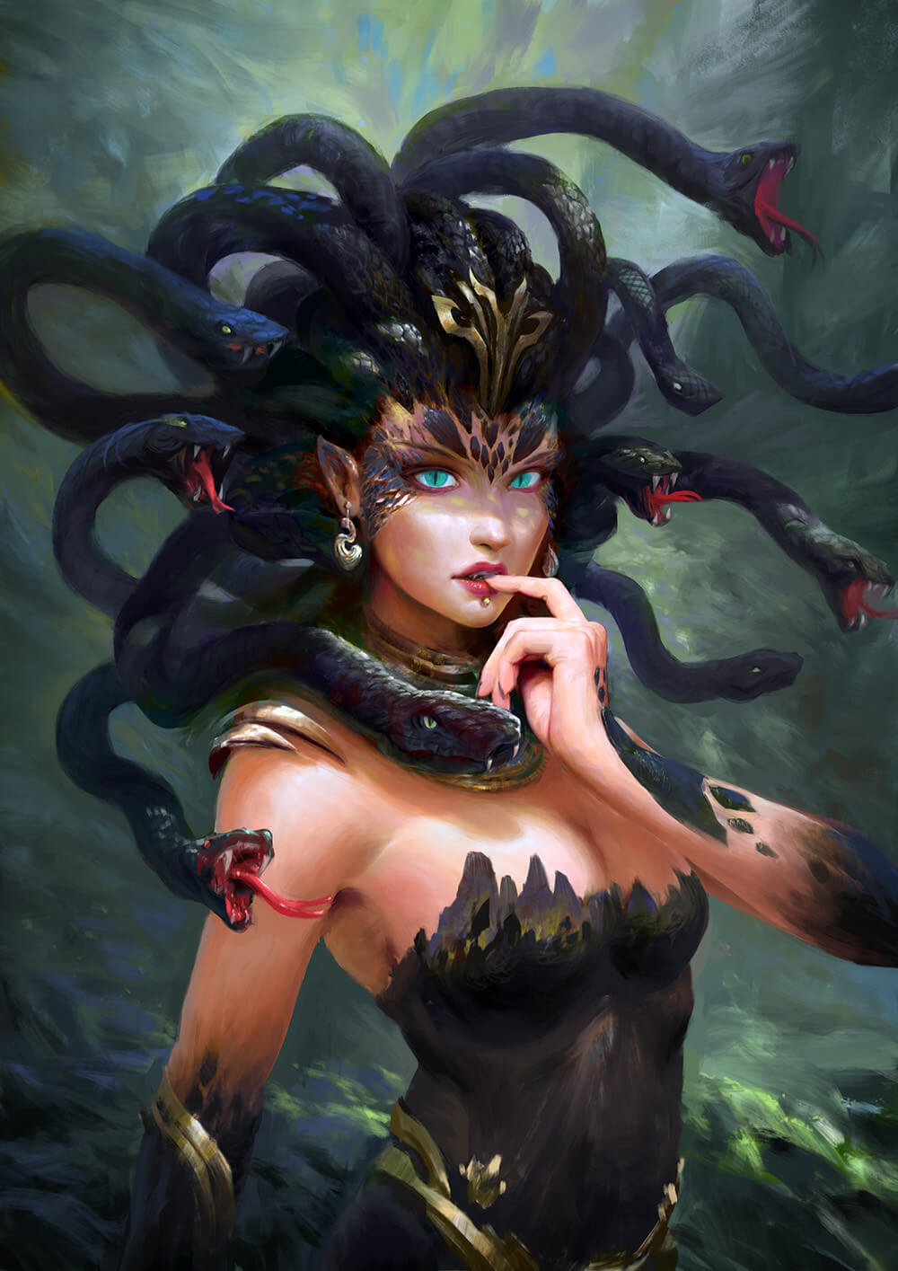 Medusa sexy picture