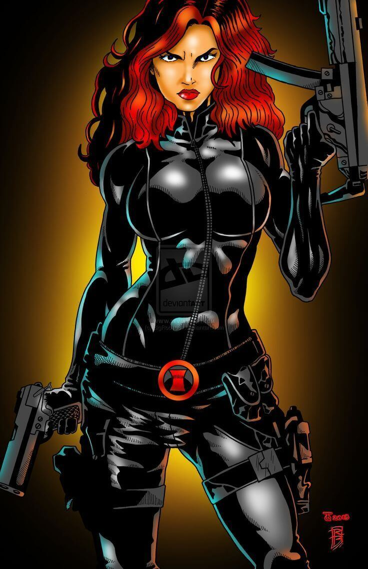 Natasha Romanoff hot photos