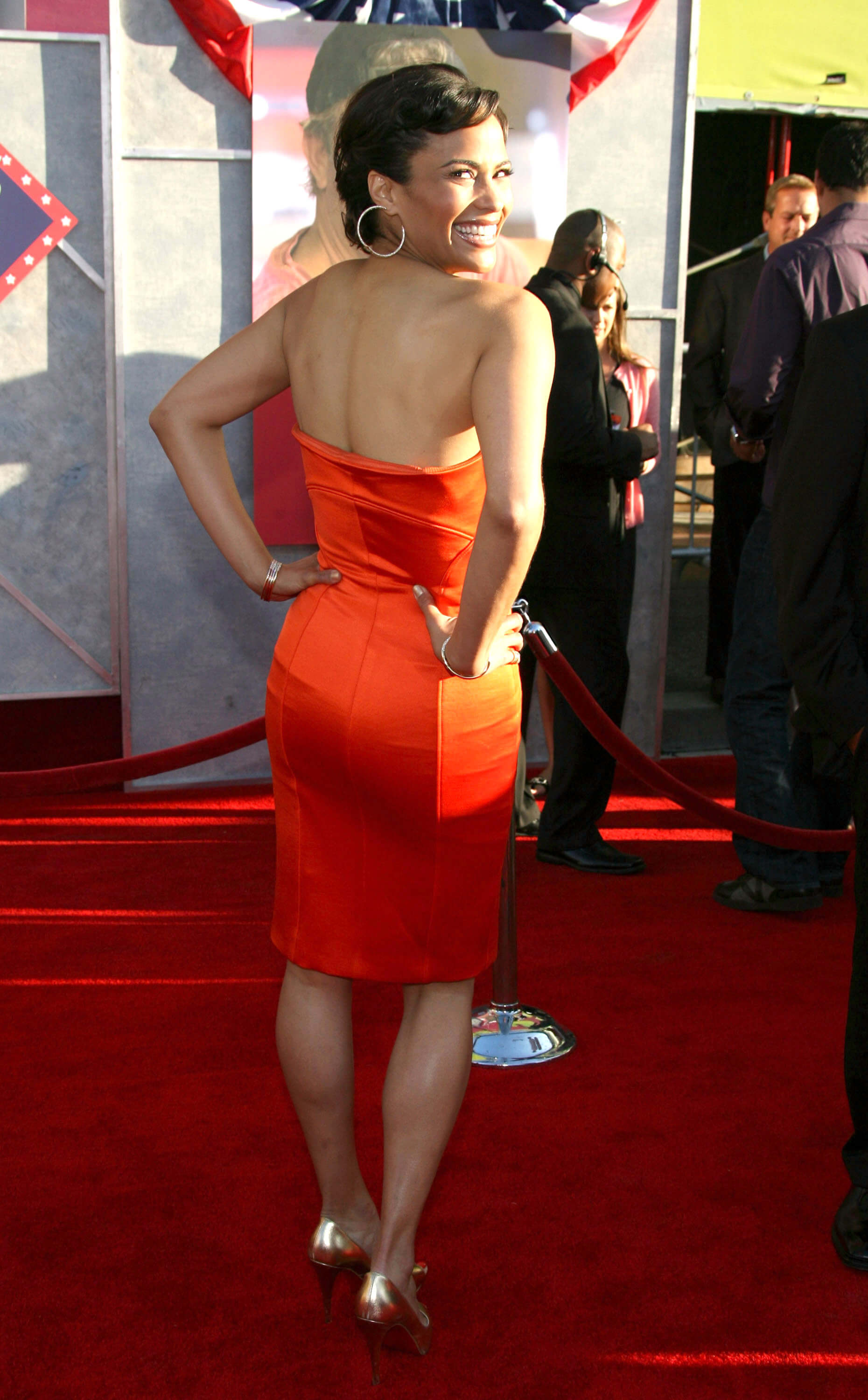 Paula Patton sexy ass