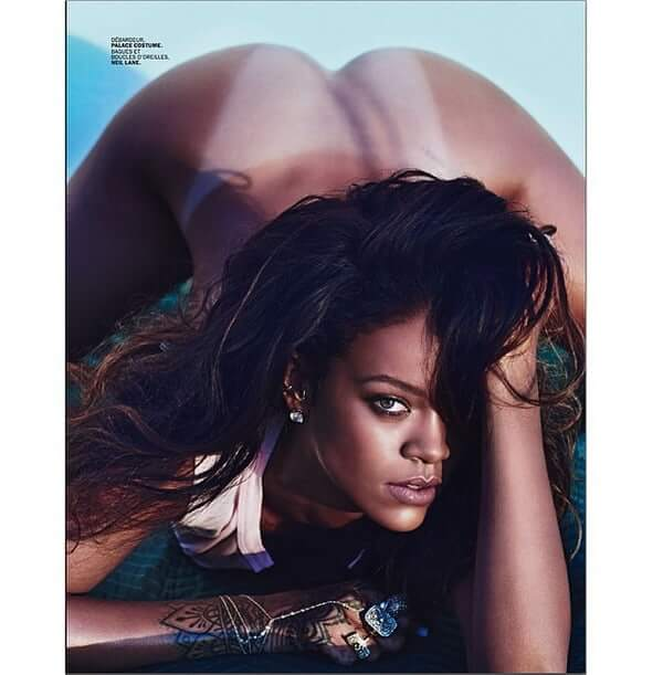 Rihanna sexy booty photos (2)
