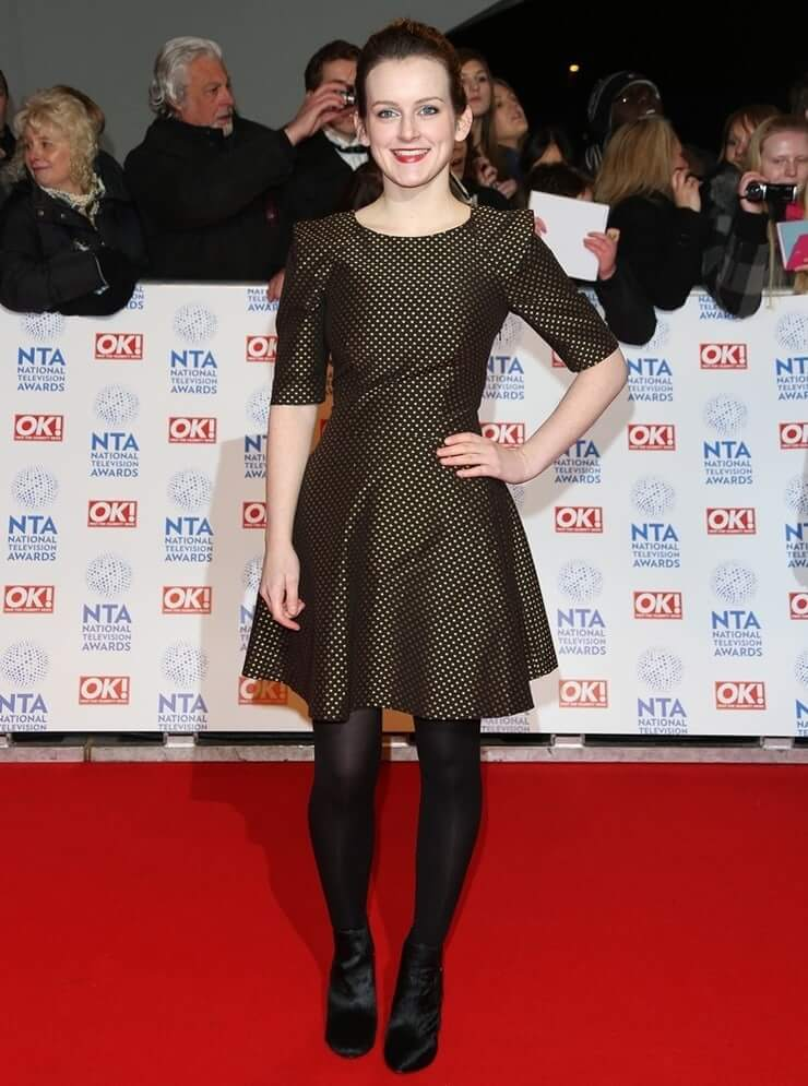 Sophie McShera hot black look